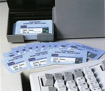 Sicherungskarten für Schliessanlagen - Legitimation zur Schlüssel-Nachbestellung
